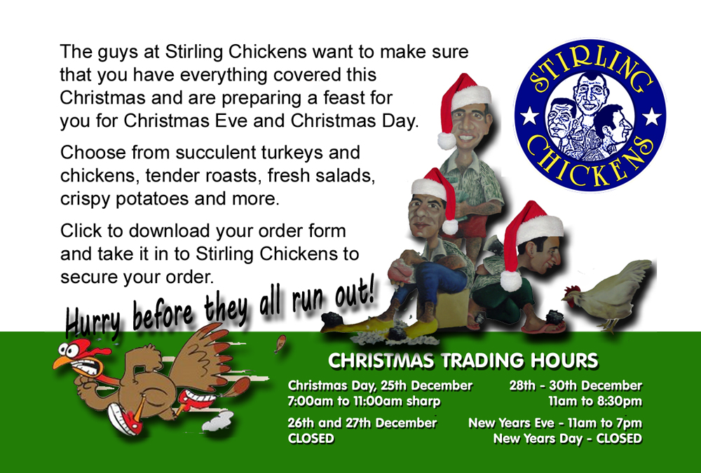 Now Taking Christmas Orders!